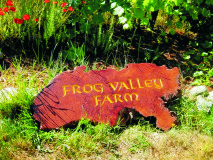 Beautifully Carved Wood Sign