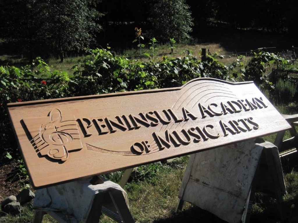 Commercial Wood SIgn